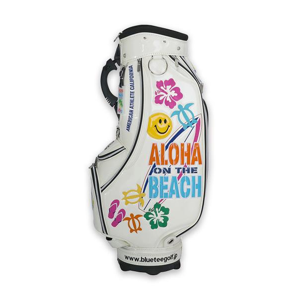ブルーティーゴルフ ALOHA ON THE BEACH カートキャディバッグ CB-009