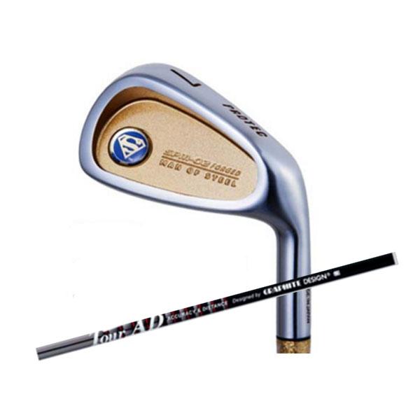 PROTEC GOLF プロテック ゴルフ スーパーマン アイアン SPM-02 JAPAN FORGED 6本セット Tour AD 65 カーボン