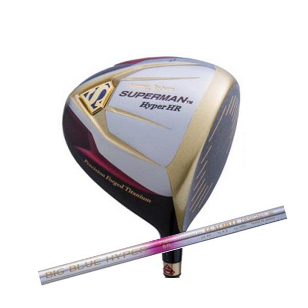 超高反発モデル PROTEC GOLF プロテック ゴルフ スーパーマン Hyper HR ドライバー グラファイトデザイン社製オリジナルカーボン