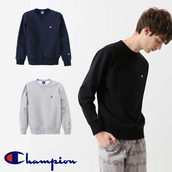 チャンピオン クルーネックスウェットシャツ メンズ 18SS トレーニング C3-LS050