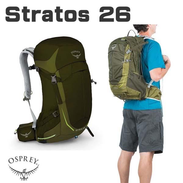 オスプレ- OSPREY ストラトス Stratos バックパック 26L リュック