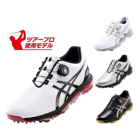 プロ3 メンズ Boa ゴルフシューズ ゲルエース PRO3 ボア asics TGN919 アシックス GEL-ACE