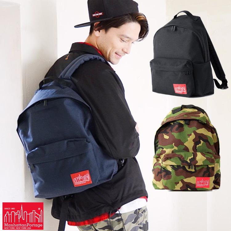マンハッタンポーテージ Manhattan Portage Big Apple Backpack バックパック メンズ レディース MP1210
