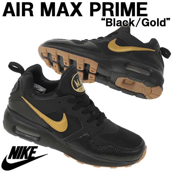 海外限定スニーカー NIKE ナイキ AIR MAX PRIME エアマックス プライム ブラック/ゴールド メンズ 876068-008