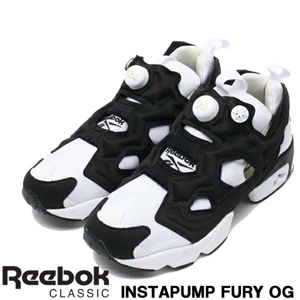 レアスニーカー リーボック Reebok INSTAPUMP FURY OG インスタポンプフューリー OG ホワイト/ブラック レディース メンズ シューズ M48559