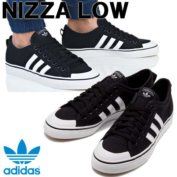 Sneakers Adidas originals adidas originals NIZZA ニッツァブラック white men gap Dis shoes B37856