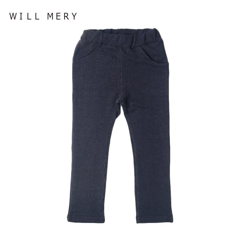 SALE セール パンツ ウィルメリー N63006 ストレッチスキニーパンツ 女の子 MERY 120cm 人気の製品 110cm 100cm WILL 130cm 迅速な対応で商品をお届け致します
