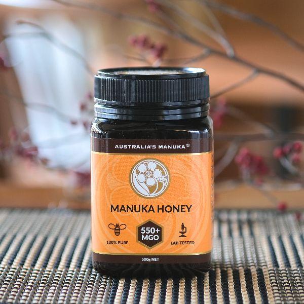 しっかりした効果を実感 MGO550+ プレゼント 500g 訳あり品送料無料 マヌカハニー Australia's Manuka