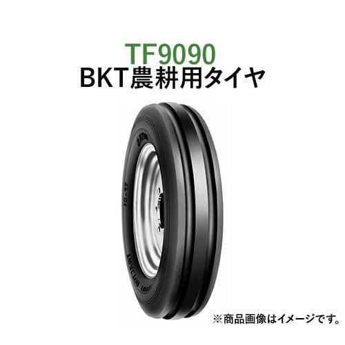 BKT トラクター 農業用・農耕用 バイアスタイヤ(チューブタイプ) TF9090 7.50-16 PR8 2本セット