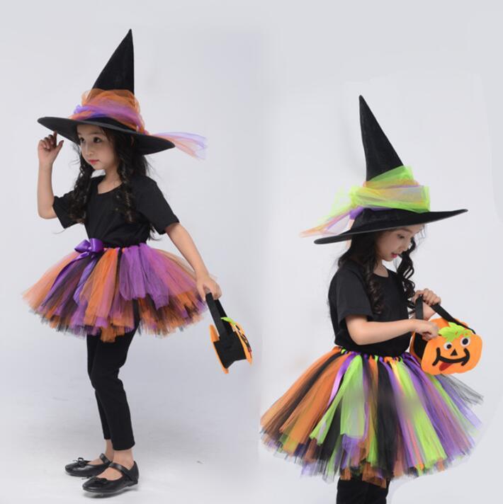 上等 子供 ハロウイン 仮装 完全送料無料 4点セット コスプレ 悪魔 魔女 女の子 コスチューム Halloween 160cm チュチュスカート 120cm こども 変装 110cm 140cm 150cm 130cm 100cm