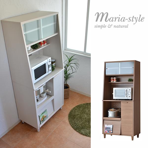 幅約80cmカウンターレンジ台と上置きレンジタイプの2台セット キッチン 日本製 使い方いろいろ便利なキッチンカウンター フラップ扉 スライド棚 ハイタイプ ガラス 02P03Dec16