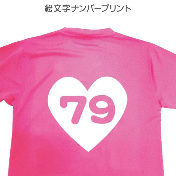 特価キャンペーン オリジナルウェアが作れます Tシャツ印刷 絵文字ナンバー 物品 プレスプリント