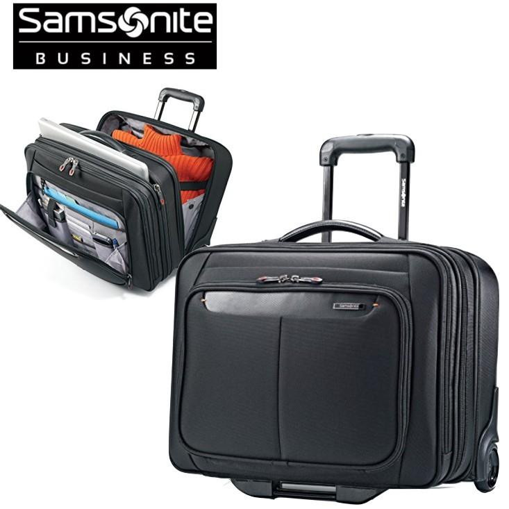Samsonite サムソナイト PFT MOBILE OFFICE 機内持込可 キャスター付 ビジネスバッグ パソコンバッグ 静音キャスター