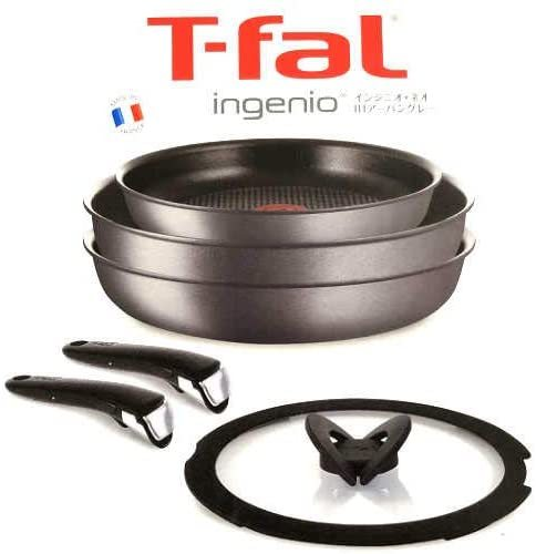 T-fal ingenio インジニオ・ネオ IHアーバングレー 6点セット