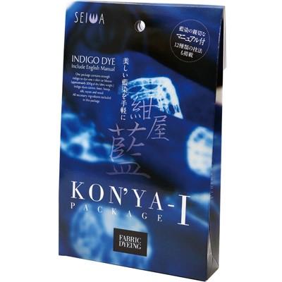 本物の藍染を誰にでも簡単に 紺屋藍 最新号掲載アイテム KONYA-I パッケージ 0013 在庫一掃