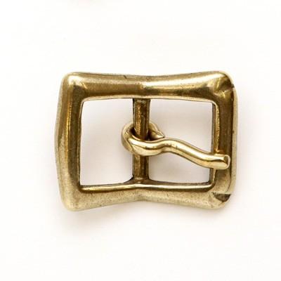 ネコポス可 真鍮金具 おすすめ特集 バックルB-5 1個 内径25mm 2521 休日