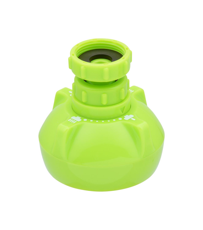 クビフリキッチンシャワー グリーン ガオナ キッチンシャワー 首振り式 泡沫吐水 シャワー切替 定価 日本産 GA-HK003 節水 掃除も簡単