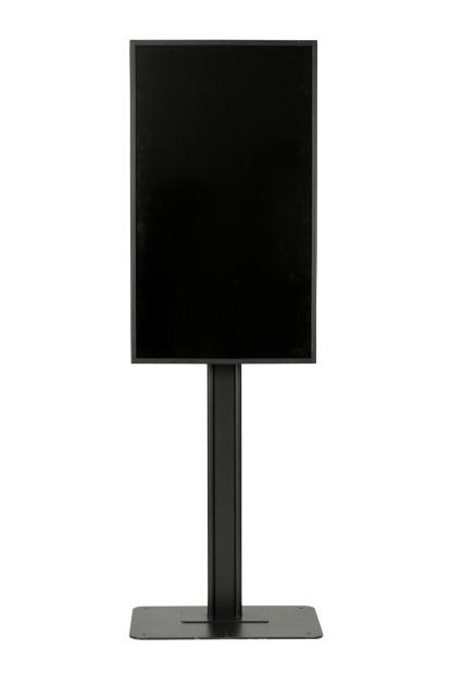 つまずきを軽減させる足元スッキリなディスプレイスタンド 人が集まる場所への設置も安心 フラットベーススタンド DSB-F55 デジタルサイネージスタンド ディスプレイスタンド セール 壁寄せテレビスタンド 目安40インチ-55インチ縦横設置可能据置き式 金属製 エスディエス 代金引換不可 春の新作 ブラック黒 stand 日本製 SDS 正規品 tv スチール製