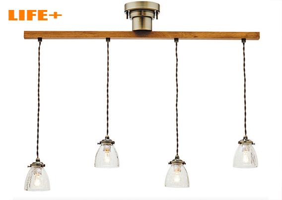 【送料無料】 アンティーク4連ペンダントライト -Rudy dangle4- 白熱灯タイプ 【ペンダントランプ|シーリングライト|4連|おしゃれ|照明|天井|レトロ|240W】