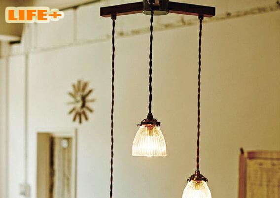 【送料無料】 アンティーク3灯ペンダントライト -Rudy dangle3- 白熱灯タイプ 【ペンダントランプ|シーリングライト|3灯|おしゃれ|照明|天井|レトロ|180W】