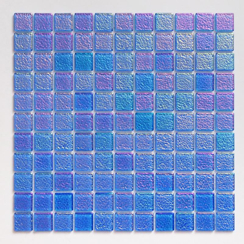 ガラスモザイクタイル 壁用 パールモザイク パステルブルー (MD-B2)