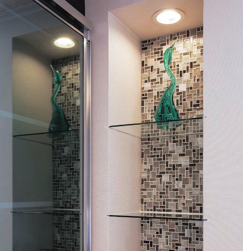 【送料無料】名古屋モザイク ガラスモザイクタイル 内装壁用 ニューヨーカーグラス (コスモポリタン) (WZA-T3010P~3040P)