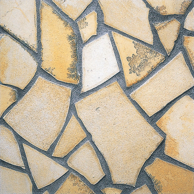 乱形石 お庭のガーデニング DIYもOK ソルンフォーヘン 薄手18平米入り (RK09)