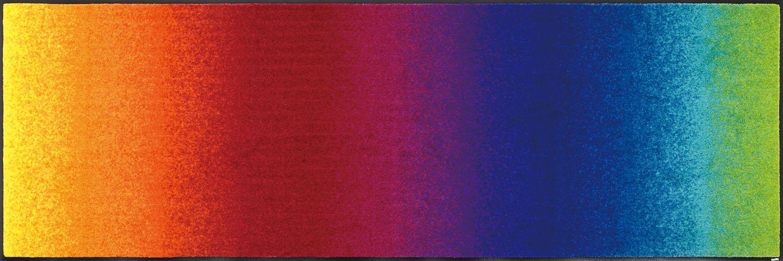 ラグマット 洗える カーペット 玄関・リビングフロア・キッチン Rainbow 60×180cm (J011C)