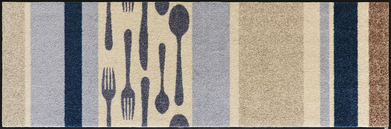 ラグマット 洗える カーペット 玄関・リビングフロア・キッチン Cubierto 60×180cm (B017C)