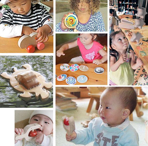 1-2 Year Old Birthday Celebration Set (G Type)  Wooden Toys (Ginga Kobo Toys) Japan