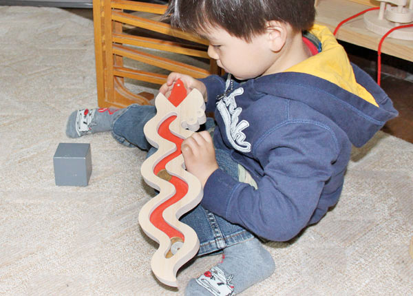 Snake Coin case Wooden Toys (Ginga Kobo Toys) Japan