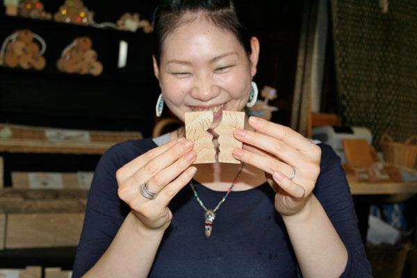 BELOVED COUPLE Wooden Toys (Ginga Kobo Toys) Japan