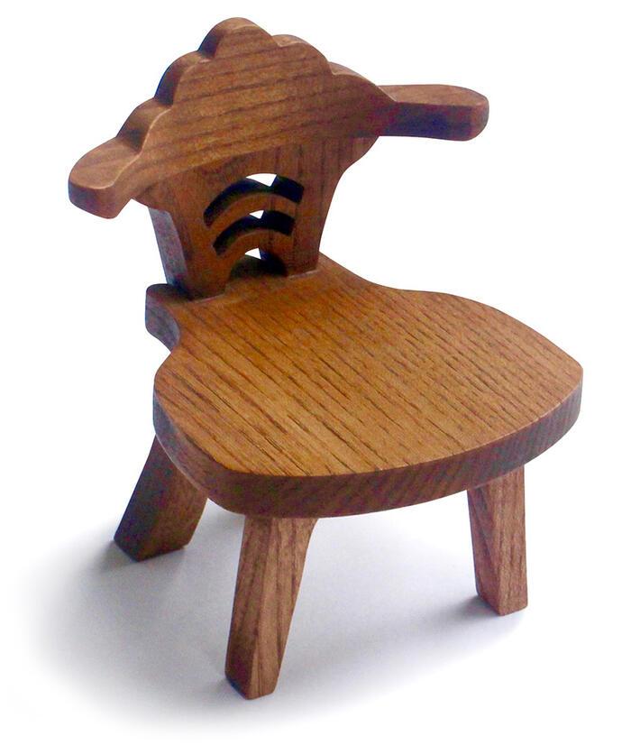 Superieur Antique Miniature Chair