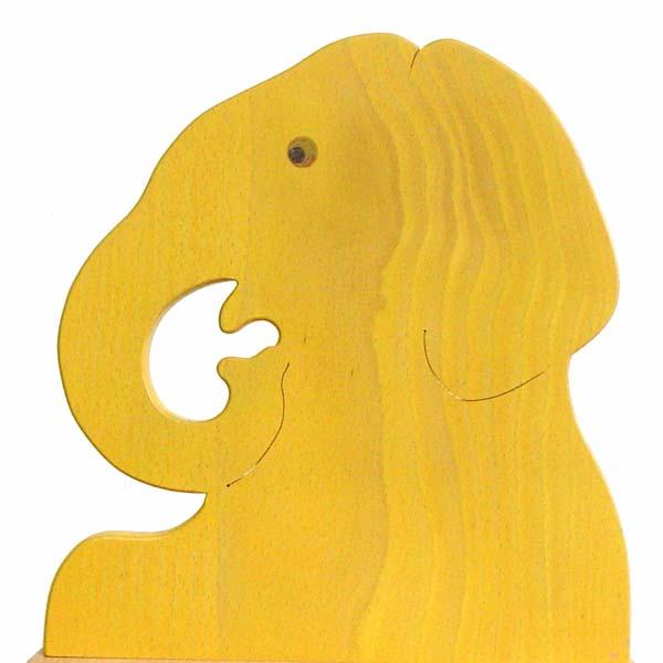 Elephant Chair A Wooden Toys (Ginga Kobo Toys) Japan