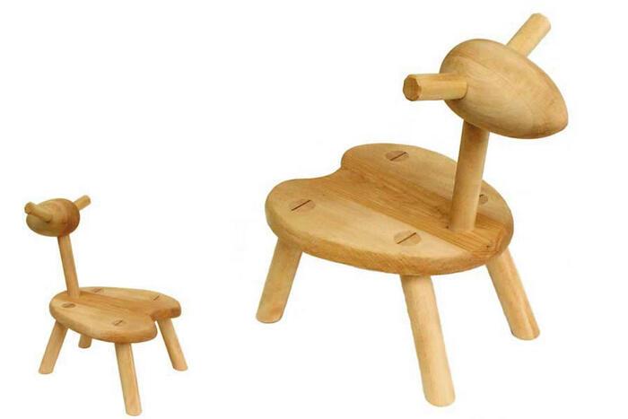 ひつじ椅子 (子供家具 木のおもちゃ 知育玩具 日本製) 6ヶ月 1歳 2歳 3歳 4歳 5歳 6歳 7歳 誕生日ギフト 誕生祝い 出産祝いにお薦め♪ 赤ちゃんおもちゃ 男の子&女の子 注文製作 いす イス 木工職人手作り 親子 木育 家族 子供施設 キッズルームに最適 こども家具です。