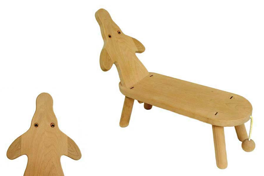 The Dachshund Chaise An Children S Furniture Birthday Gift Wooden Toys 1 Year Old
