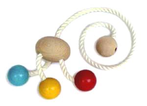Dancing Octopus Wooden Toys (Ginga Kobo Toys) Japan