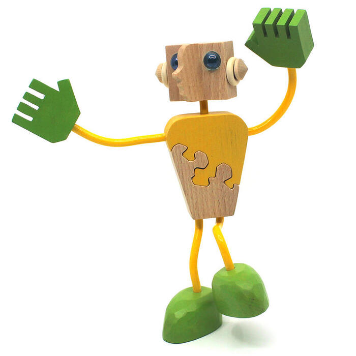 WOODEN DOLL #13 Wooden Toys (Ginga Kobo Toys) Japan
