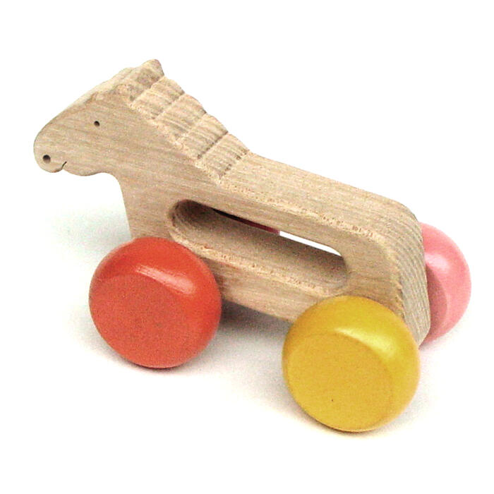 Rattling Horse Wooden Toys (Ginga Kobo Toys) Japan