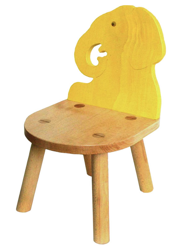 【名入れ可】●ゾウ椅子(A) (子供家具・木のおもちゃ 日本製 ) 1歳 2歳 3歳 4歳 5歳 誕生日ギフト~出産祝い 男の子 女の子 赤ちゃん♪ 注文製作の木の椅子 子供施設 キッズルームに最適です! 記念日 木工職人手作り いす イス 木育 ★ Ginga Kobo Toys