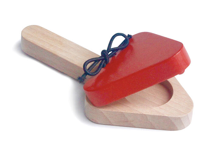 BABY CASTANETS Wooden Toys (Ginga Kobo Toys) Japan