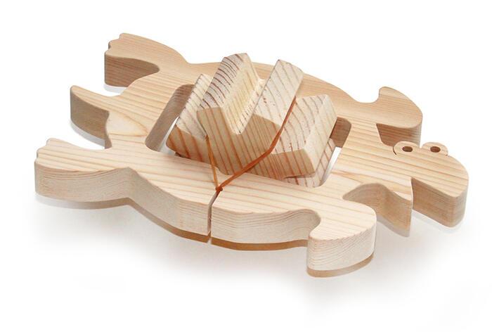 TURTLE Wooden Toys (Ginga Kobo Toys) Japan