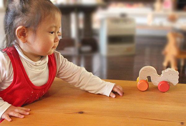 Creepy Crawly Lion Wooden Toys (Ginga Kobo Toys) Japan