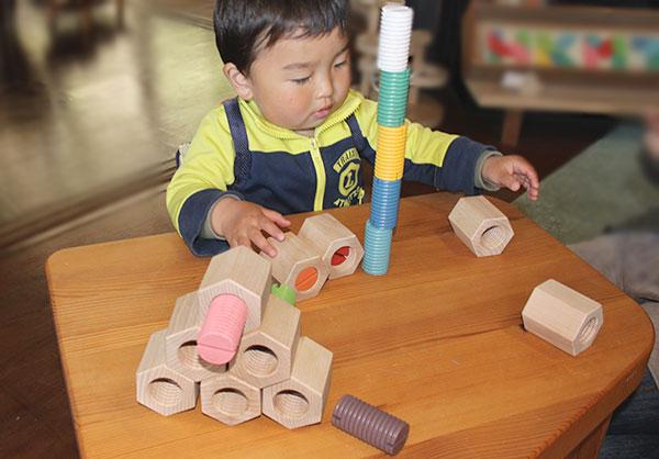点 10 倍-六角扭构造块 (日本好玩具委员会选择玩具) 3 岁 ~ 100 年,为庆祝出生 ♪ 婴儿玩具日本制造的木制玩具 ■ 推荐木制玩具 (银河 Kobo 玩具) 日本