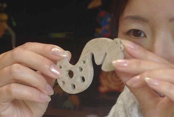 Snake Hook Wooden Toys (Ginga Kobo Toys) Japan