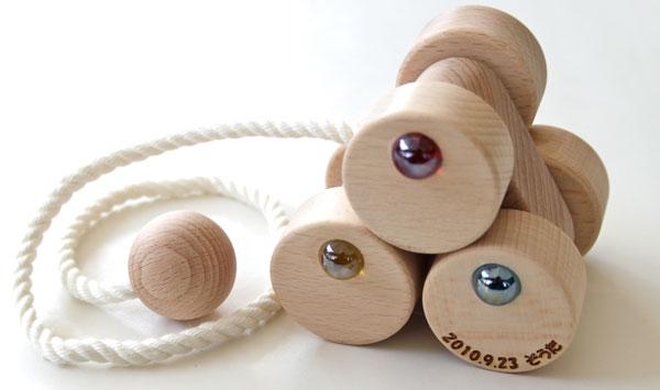 6 Wheel Car S Wooden Toys (Ginga Kobo Toys) Japan