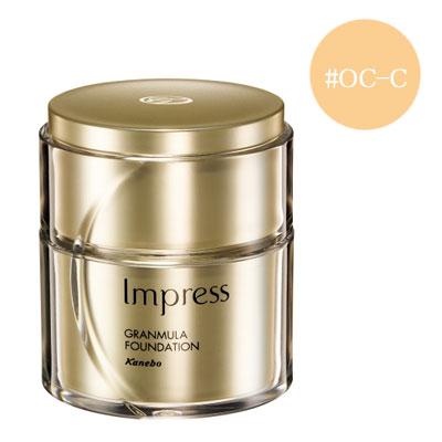Impress インプレス グランミュラ ファンデーション #OC-C SPF25 ・ PA++ 30g