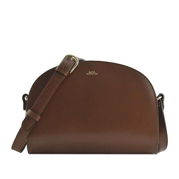 A.P.C.(アーペーセー) ナナメガケバッグ F61048 CAD NOISETTE