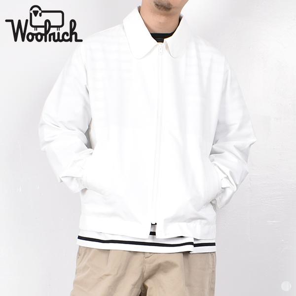 【スーパーSALE 期間限定プライス】【 20SS 】【 ウールリッチ 】 ドライ オックスフォード ジャケット nolow1912 【 WOOLRICH 】 DRY X OXFORD JACKET メンズ 男性 ホワイト ドリズラージャケット スウィングトップ