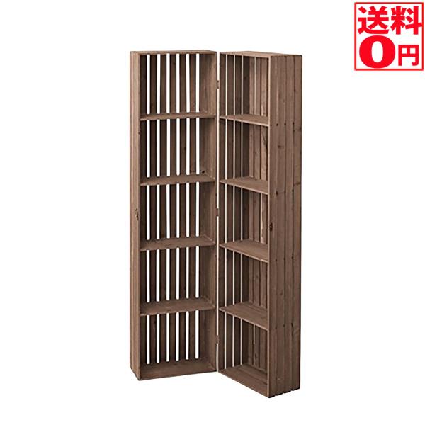 【送料無料】天然木 杉材 シェルフボックス ccr-117